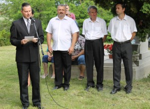 Balaicz Zoltán alpolgármester emlékezett.